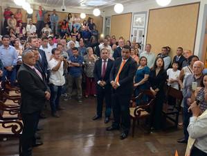 Tutuca participa da posse de Luciano Vidal, novo prefeito de Paraty