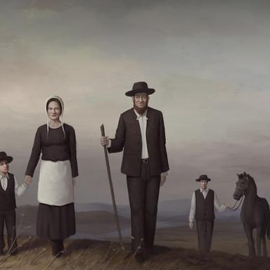 The Amish Family