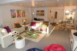 Sunny reception room