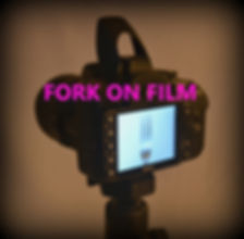 fork being photographed