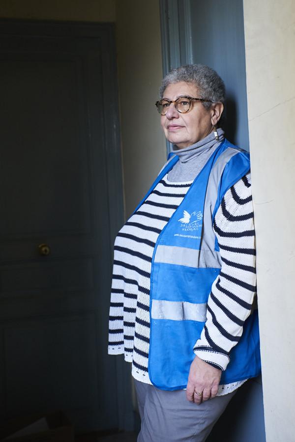 Genevieve Muscat, Secours populaire © L.d'Aboville