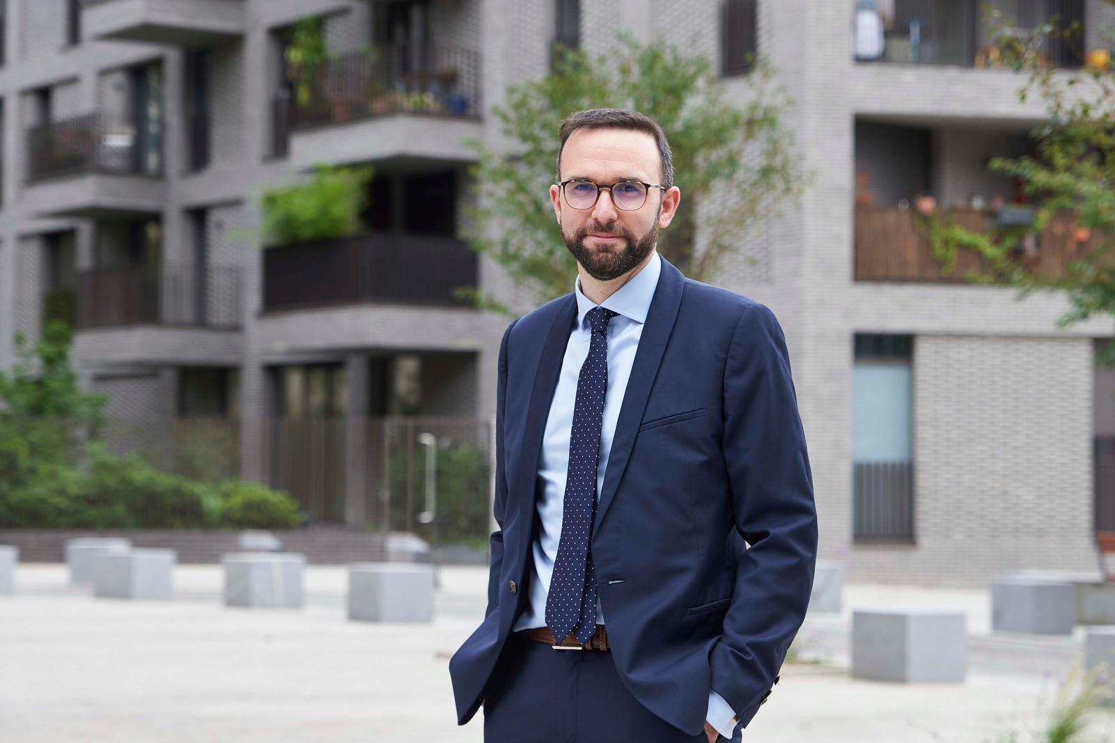 Mathieu Monot, élu, Ville de Pantin, © L.d'Aboville
