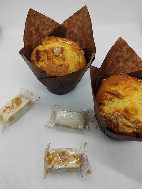 Muffins Nougats - Chocolat Blanc