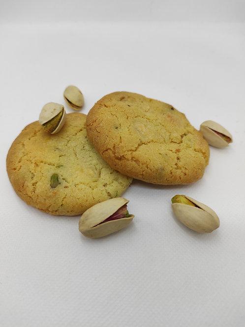 Cookies pistaches/chocolat blanc