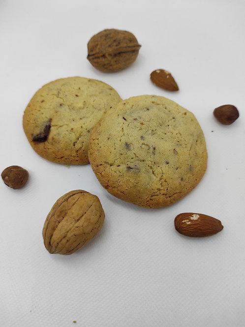 Cookies fruits secs/Chocolat