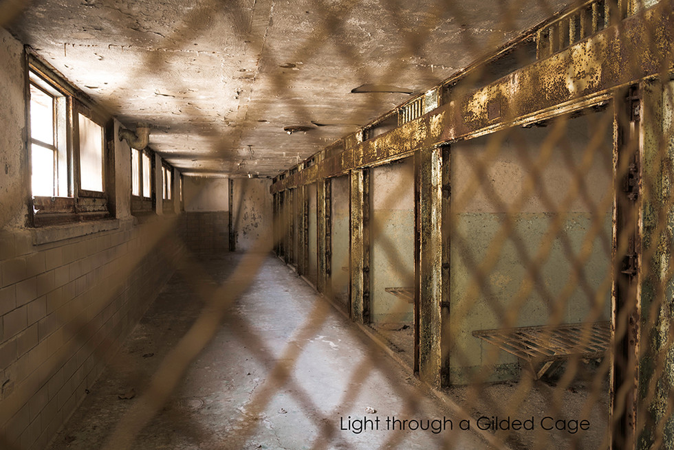Light through a Gridded Cage