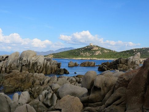 Campomore: sentier du bord de mer