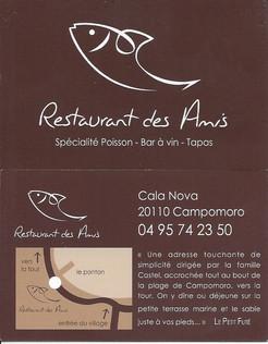 Restaurant des Amis