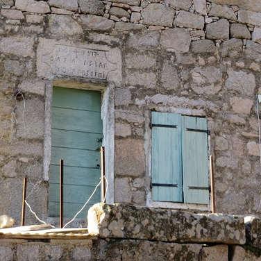 Une des plus ancienne maison du village