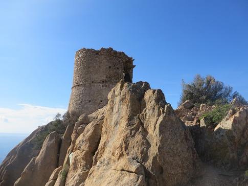 Rocapina, la tour génoise