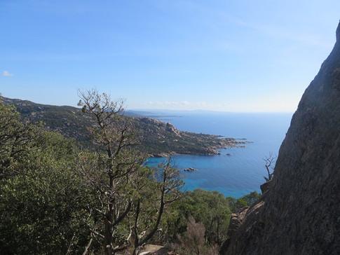 Rocapina, vue depuis la tour