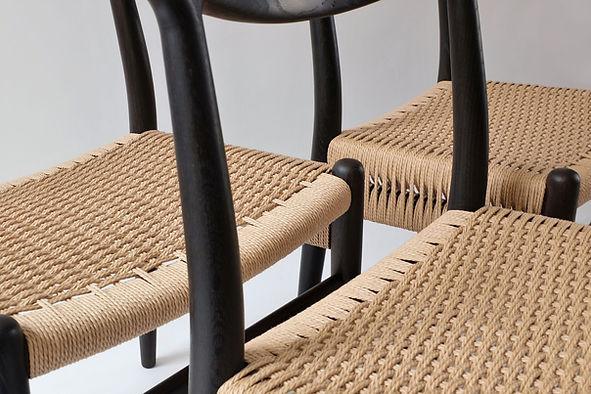 Danish Paper Cord Weaving London Bespoke