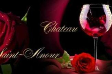 Роза и вино. Фартуки с эффектом мерцания (МДФ) 610х2800х6