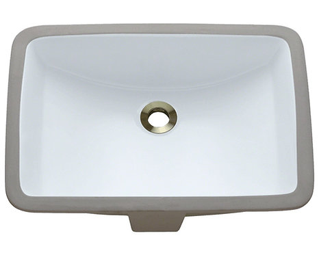 HBS1813 Rectangle Undermount Bathroom Sink