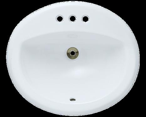 HBS-2017 Oval Undermount Bathroom Sink