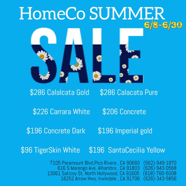 HomeCo 2020 Summer SALE!