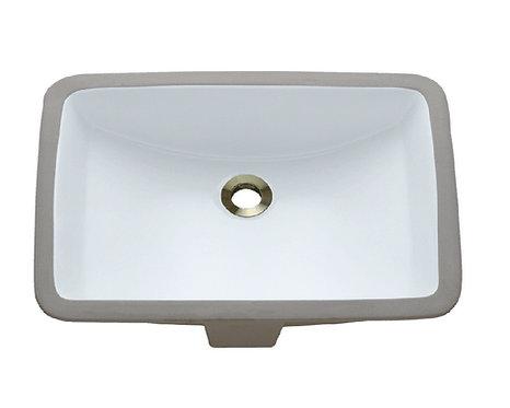 HBS1611 Rectangle Undermount Bathroom Sink
