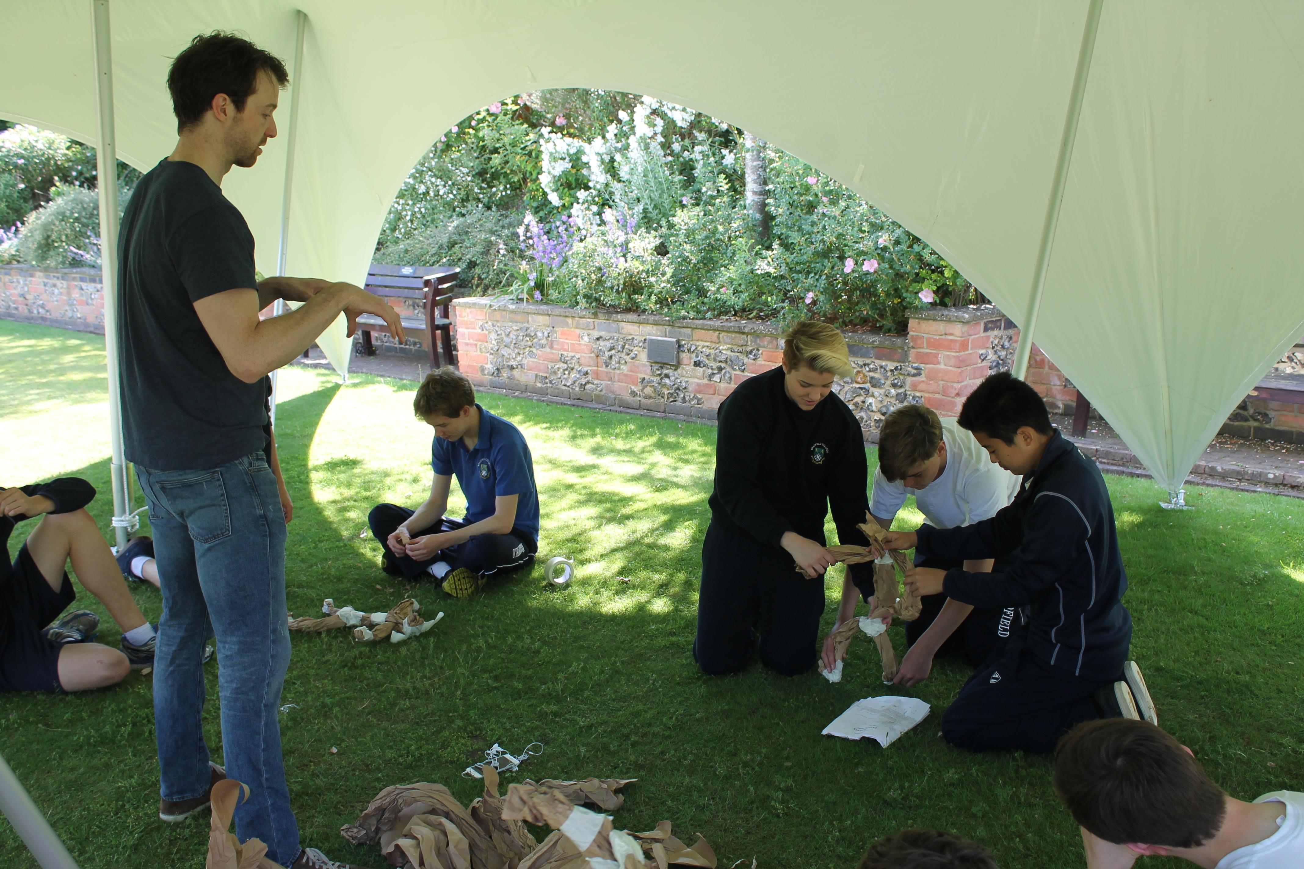 Bradfield College Workshop, Puppetry