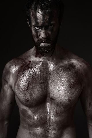 Alexander McWilliam acting portfolio, viking, warrior