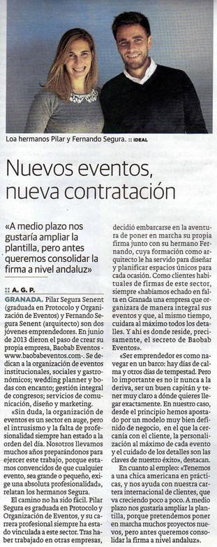 Reportaje Diario Ideal