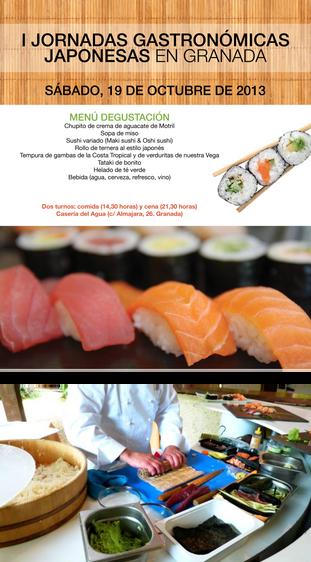 I Jornadas Gastronómicas Japonesas