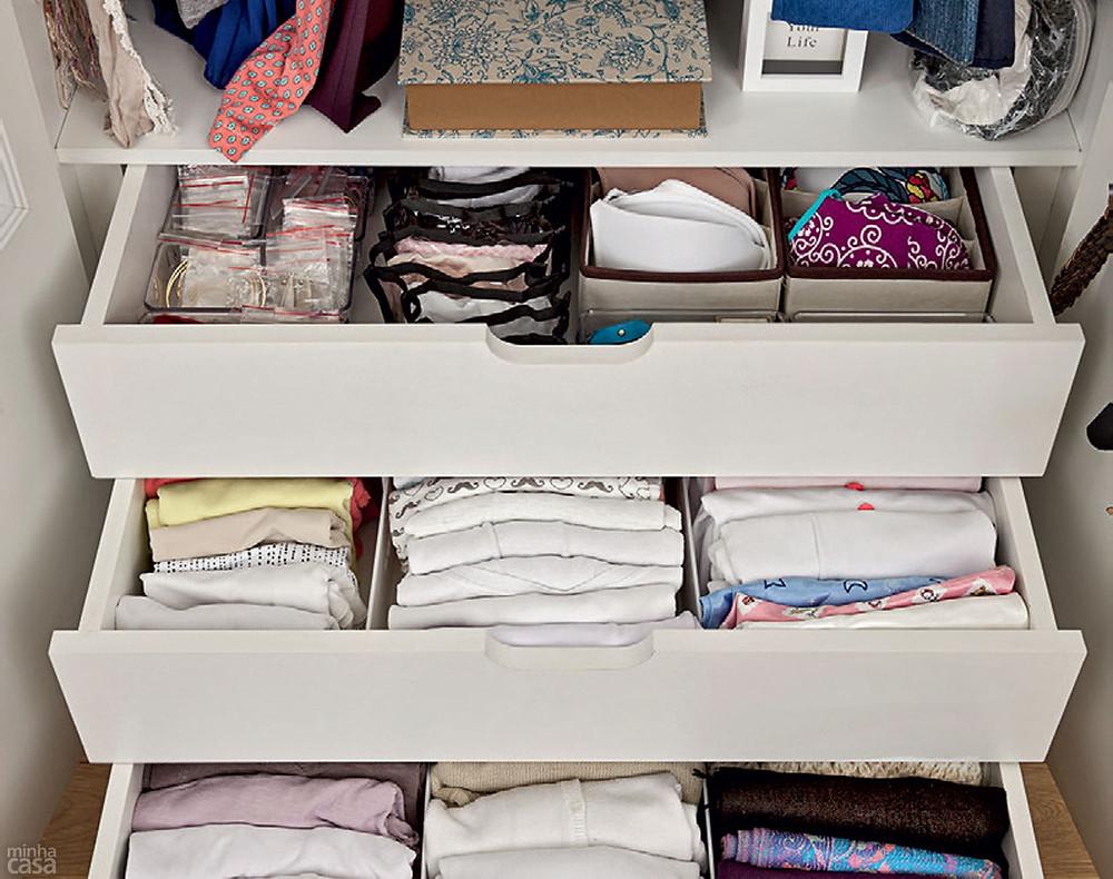 10 dicas para organizar definitivamente o roupeiro