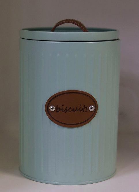 Pote lata biscoito retrô 1732