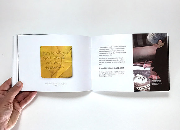 Found By Laura Coffee Table Book