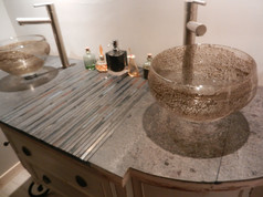 vasques verre souffle