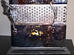 lampe fusing et acier