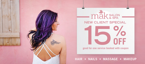 MAK Salon and Spa Ad
