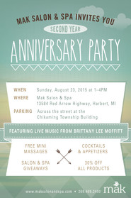 MAK Salon and Spa Anniversary Party