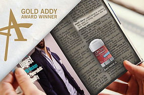 Old Spice Ad Campaign Gold Addy Award Winner