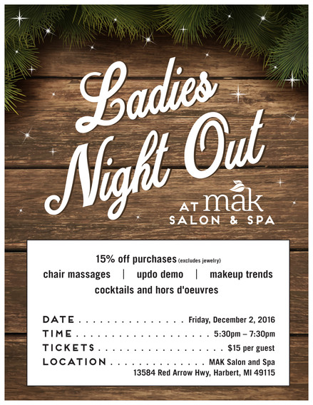MAK Salon and Spa Ladies Night Out