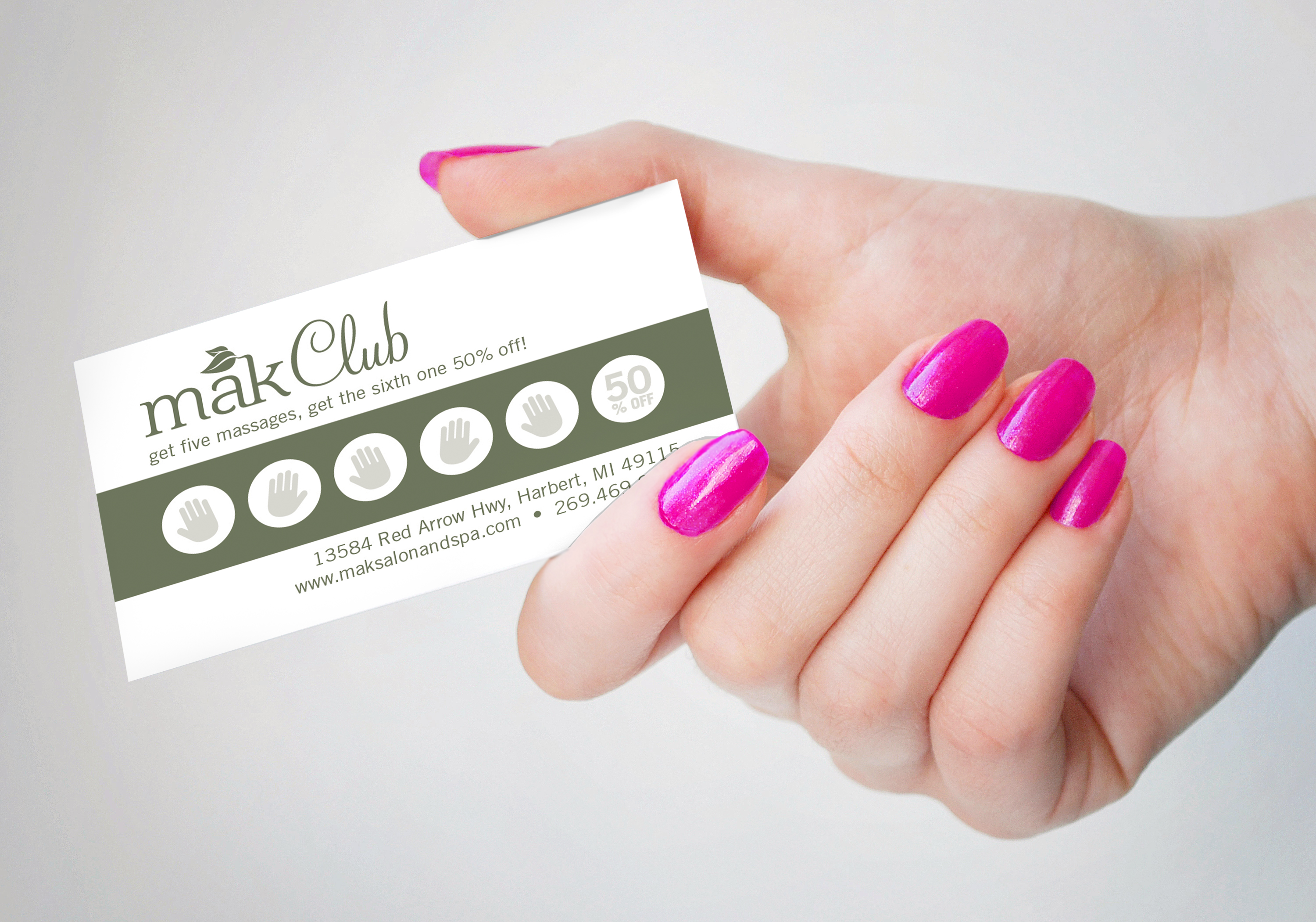 Club Rewards Card