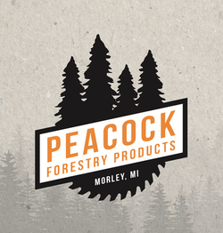 Peacock Forestry Logo