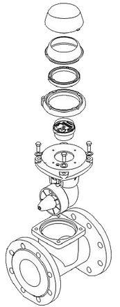 Aquatel, compteurs d'eau, compteur d'eau impulsion, compteur énergie, compteur de calories