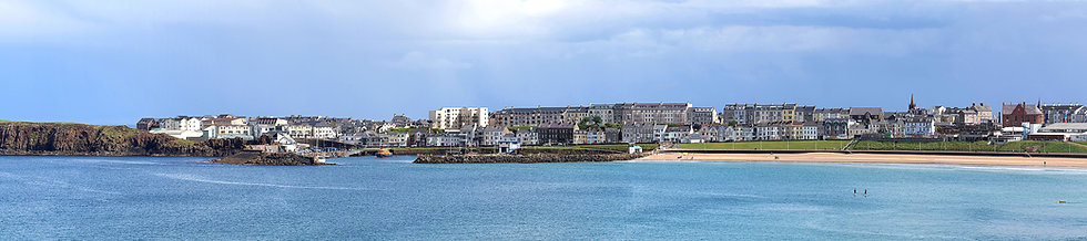 Portrush Harbour view