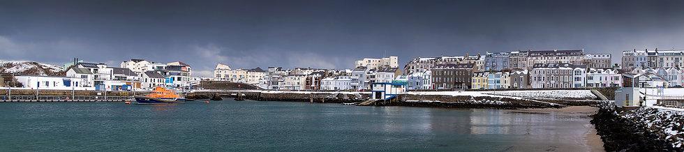 Winter Portrush Harbour