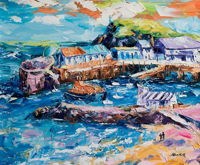 """Portrush Harbour"""