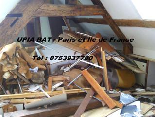Démolition + Debarras d'appartement Paris 75001