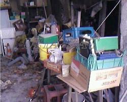gravats /  déchets /  encombrants