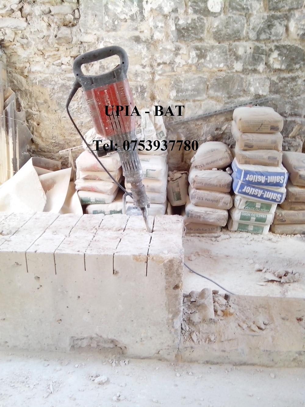 UPIA BAT - Debarasser gravats