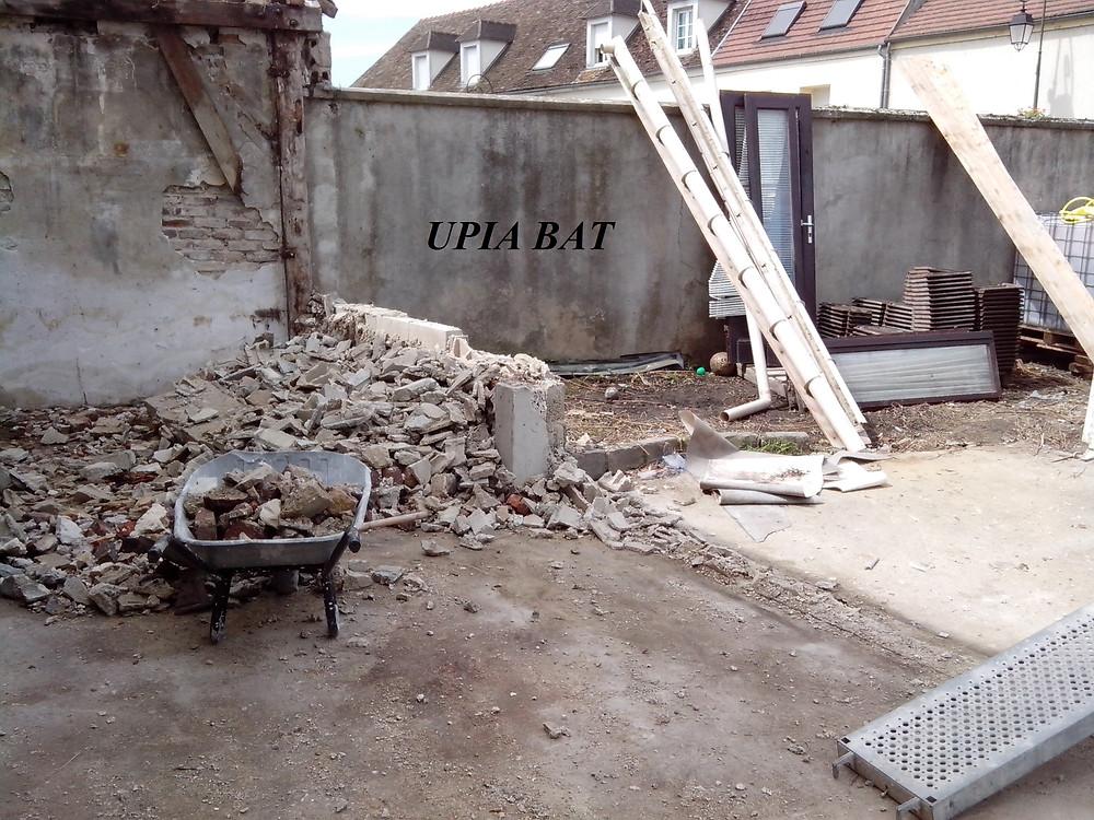 UPIA BAT - Démolition + debarasser gravtas