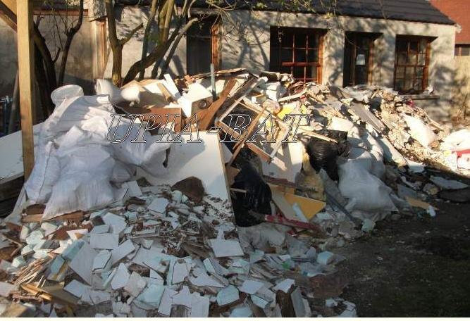 Debarasser des gravats / déchets