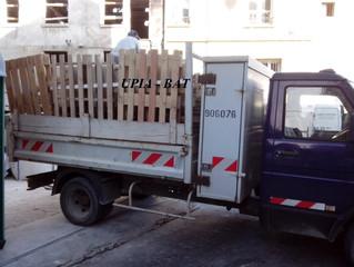 UPIA BAT - Debarasser du bois