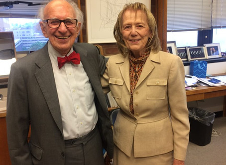 Sustainability Spotlight: Meeting Dr. Eric Kandel