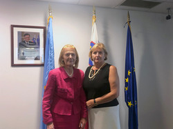 President, Roma Stibravy, and Our Newest