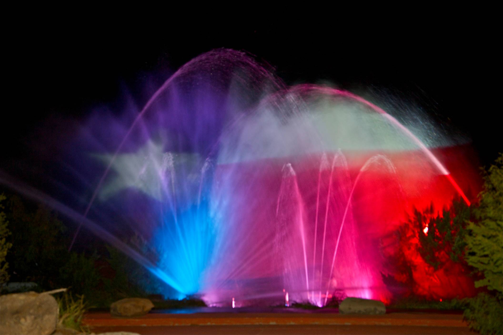 TEXAS Water Light Finale