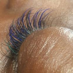 color eyelash extensions va beach